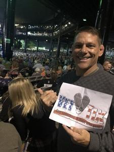 Clinton attended Lady Antebellum & Darius Rucker Summer Plays on Tour on Sep 15th 2018 via VetTix
