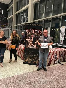 James attended Sugarland - Country on Sep 8th 2018 via VetTix