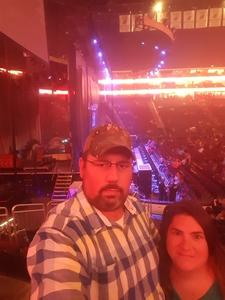 Duane and Tammy attended Sugarland - Country on Sep 8th 2018 via VetTix