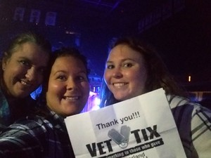 Tammy attended Sugarland - Country on Sep 8th 2018 via VetTix