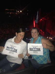 Kevin attended Sugarland - Country on Sep 8th 2018 via VetTix