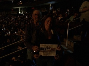 William attended Sugarland - Country on Sep 8th 2018 via VetTix