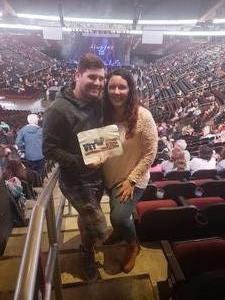 Curtis attended Sugarland - Country on Sep 8th 2018 via VetTix