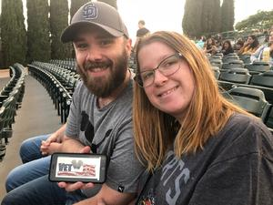 Randal attended Evanescence + Lindsey Stirling - Alternative Rock on Aug 31st 2018 via VetTix