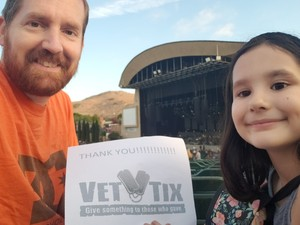 Sean attended Evanescence + Lindsey Stirling - Alternative Rock on Aug 31st 2018 via VetTix