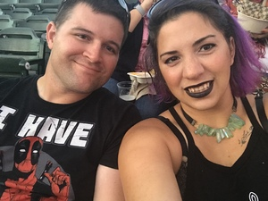 John attended Evanescence + Lindsey Stirling - Alternative Rock on Aug 31st 2018 via VetTix