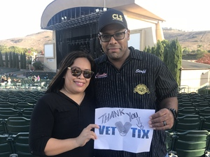 maria attended Evanescence + Lindsey Stirling - Alternative Rock on Aug 31st 2018 via VetTix