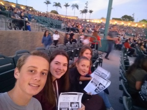 William attended Evanescence + Lindsey Stirling - Alternative Rock on Aug 31st 2018 via VetTix