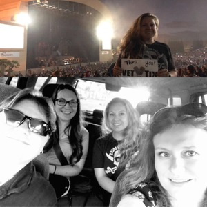 Kodie attended Evanescence + Lindsey Stirling - Alternative Rock on Aug 31st 2018 via VetTix