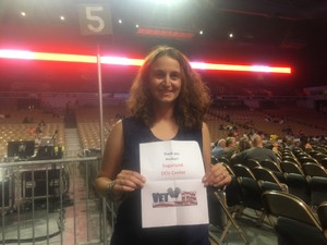 Erica attended Sugarland - Country on Sep 7th 2018 via VetTix