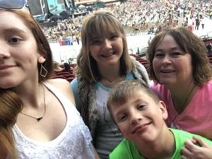 Jessica attended Ed Sheeran: 2018 North American Stadium Tour - Pop on Sep 6th 2018 via VetTix