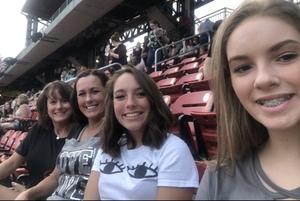 William attended Ed Sheeran: 2018 North American Stadium Tour - Pop on Sep 6th 2018 via VetTix