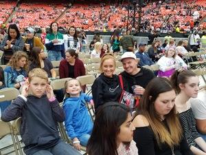 LISA attended Taylor Swift Reputation Stadium Tour - Pop on Sep 8th 2018 via VetTix