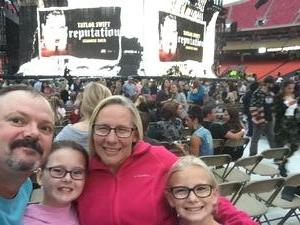 Bradley attended Taylor Swift Reputation Stadium Tour - Pop on Sep 8th 2018 via VetTix