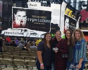 Corey attended Taylor Swift Reputation Stadium Tour - Pop on Sep 8th 2018 via VetTix