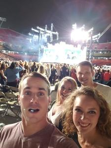 David attended Taylor Swift Reputation Stadium Tour - Pop on Sep 8th 2018 via VetTix