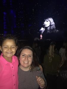 Amber attended Taylor Swift Reputation Stadium Tour - Pop on Sep 8th 2018 via VetTix