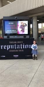 mikayla attended Taylor Swift Reputation Stadium Tour - Pop on Sep 8th 2018 via VetTix