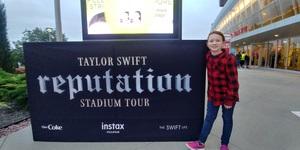 Ray attended Taylor Swift Reputation Stadium Tour - Pop on Sep 8th 2018 via VetTix
