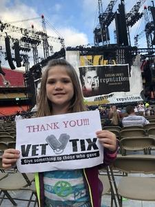 Lauren attended Taylor Swift Reputation Stadium Tour - Pop on Sep 8th 2018 via VetTix