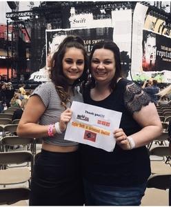 Chris attended Taylor Swift Reputation Stadium Tour - Pop on Sep 8th 2018 via VetTix