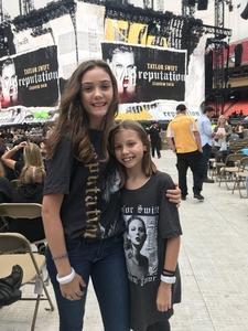 The Clemens Family attended Taylor Swift Reputation Stadium Tour - Pop on Sep 8th 2018 via VetTix