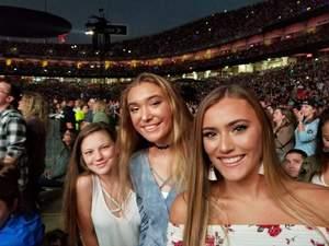 Vic attended Taylor Swift Reputation Stadium Tour - Pop on Sep 8th 2018 via VetTix