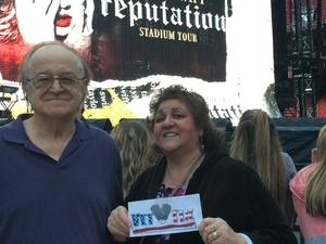 Rudolph attended Taylor Swift Reputation Stadium Tour - Pop on Sep 8th 2018 via VetTix