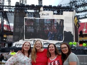 Linda attended Taylor Swift Reputation Stadium Tour - Pop on Sep 8th 2018 via VetTix