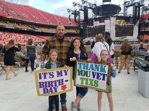 Derek attended Taylor Swift Reputation Stadium Tour - Pop on Sep 8th 2018 via VetTix