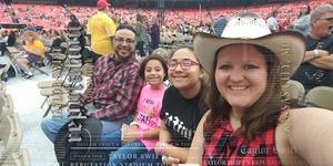 Carlos attended Taylor Swift Reputation Stadium Tour - Pop on Sep 8th 2018 via VetTix