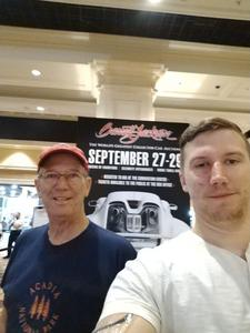 Benjamin attended Barrett Jackson - the World's Greatest Collector Car Auction in Vegas - Tickets Are 2 for 1, So 1 Ticket Will Get 2 People in - Thursday on Sep 27th 2018 via VetTix