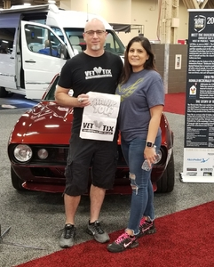 Brett attended Barrett Jackson - the World's Greatest Collector Car Auction in Vegas - Tickets Are 2 for 1, So 1 Ticket Will Get 2 People in - Saturday on Sep 29th 2018 via VetTix