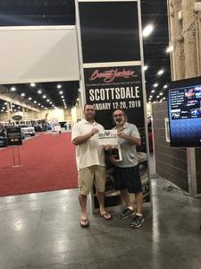 MICHAEL USAF 83-91 attended Barrett Jackson - the World's Greatest Collector Car Auction in Vegas - Tickets Are 2 for 1, So 1 Ticket Will Get 2 People in - Saturday on Sep 29th 2018 via VetTix
