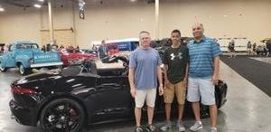 Fernando attended Barrett Jackson - the World's Greatest Collector Car Auction in Vegas - Tickets Are 2 for 1, So 1 Ticket Will Get 2 People in - Saturday on Sep 29th 2018 via VetTix