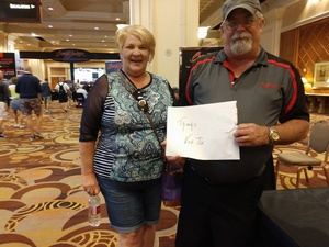 Charles attended Barrett Jackson - the World's Greatest Collector Car Auction in Vegas - Tickets Are 2 for 1, So 1 Ticket Will Get 2 People in - Saturday on Sep 29th 2018 via VetTix