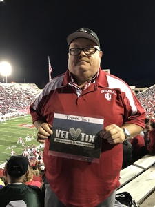 Click To Read More Feedback from Indiana Hoosiers vs. Michigan State Spartans - NCAA Football - Time TBA