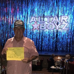 Click To Read More Feedback from Altar Boyz - Wednesday