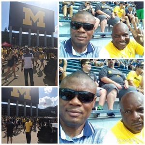 John attended University of Michigan Wolverines vs. SMU Mustangs - NCAA Football on Sep 15th 2018 via VetTix