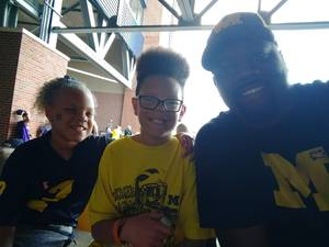 Ira attended University of Michigan Wolverines vs. SMU Mustangs - NCAA Football on Sep 15th 2018 via VetTix