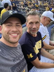 David attended University of Michigan Wolverines vs. SMU Mustangs - NCAA Football on Sep 15th 2018 via VetTix
