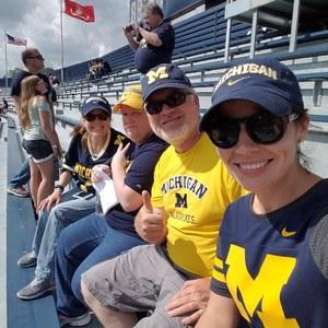 Robert attended University of Michigan Wolverines vs. SMU Mustangs - NCAA Football on Sep 15th 2018 via VetTix