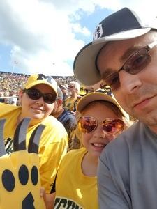 Joseph attended University of Michigan Wolverines vs. SMU Mustangs - NCAA Football on Sep 15th 2018 via VetTix