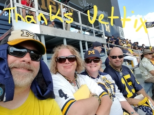 William attended University of Michigan Wolverines vs. SMU Mustangs - NCAA Football on Sep 15th 2018 via VetTix