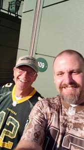 Robert attended Green Bay Packers vs. Chicago Bears - NFL on Sep 9th 2018 via VetTix