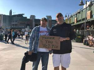 chad attended Green Bay Packers vs. Chicago Bears - NFL on Sep 9th 2018 via VetTix