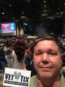 Glenn attended Rascal Flatts: Back to US Tour 2018 - Country on Sep 13th 2018 via VetTix