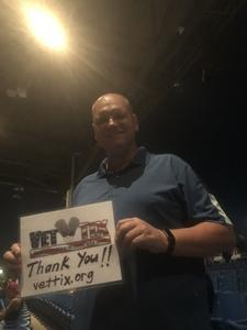 Todd attended Rascal Flatts: Back to US Tour 2018 - Country on Sep 13th 2018 via VetTix