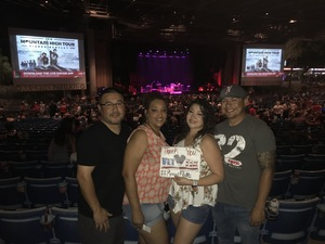 David attended Rascal Flatts: Back to US Tour 2018 - Country on Sep 13th 2018 via VetTix