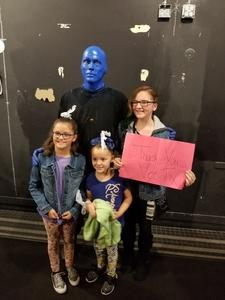Click To Read More Feedback from Blue Man Group Chicago